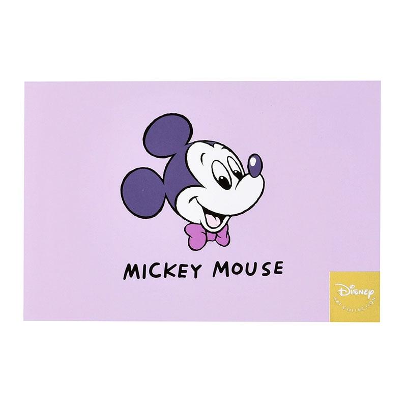 ミッキー ポストカード Colors