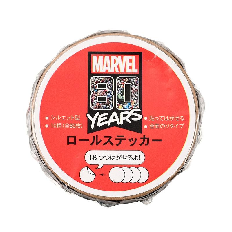 マーベル シール・ステッカー フェイス ロール American Vintage For 80th Anniversary