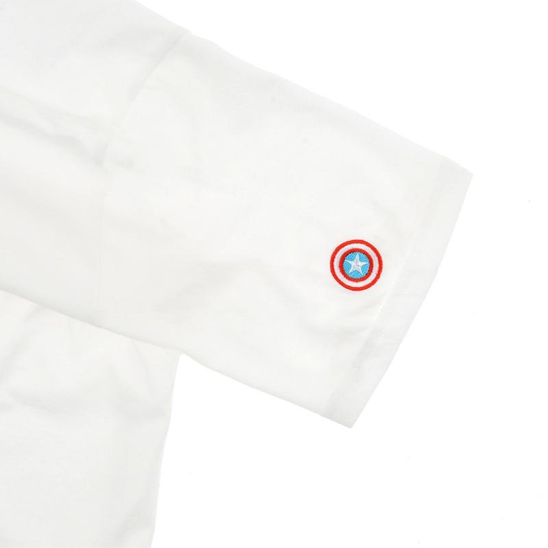 半袖Tシャツ(M) マーベル キャプテン・アメリカ アベンジャーズ/エンドゲーム
