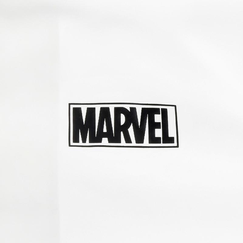 パッカブルパーカー(M) マーベル ロゴ ホワイト