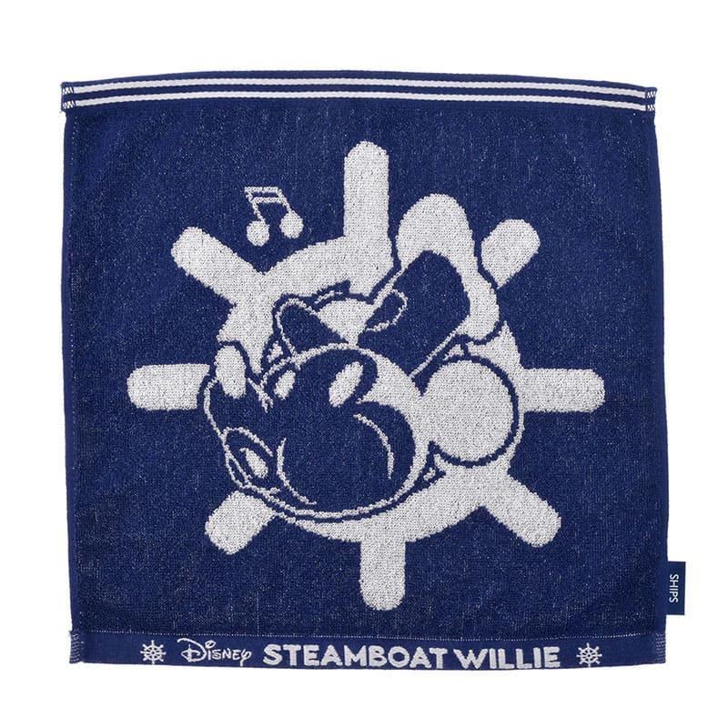 【SHIPS】ミッキー ゲストタオル 蒸気船ウィリー