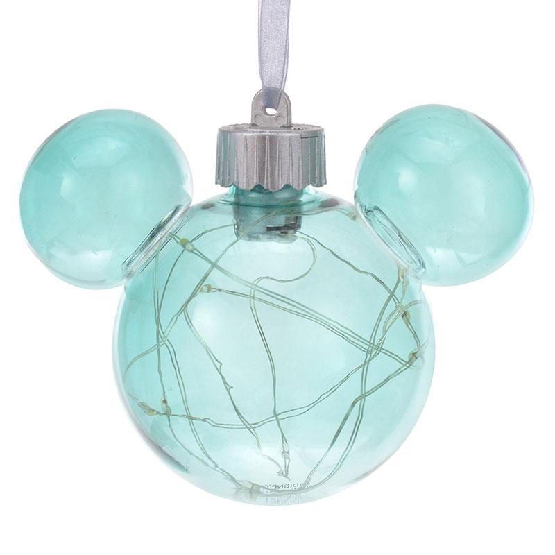 ミッキー オーナメント ライトアップ ブルー Disney Christmas