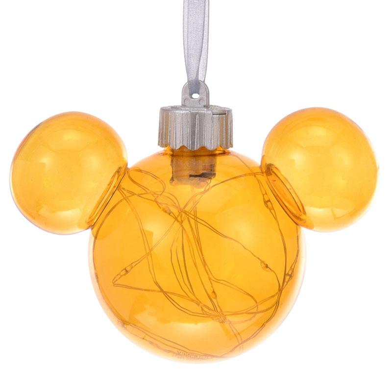 ミッキー オーナメント ライトアップ ゴールド Disney Christmas