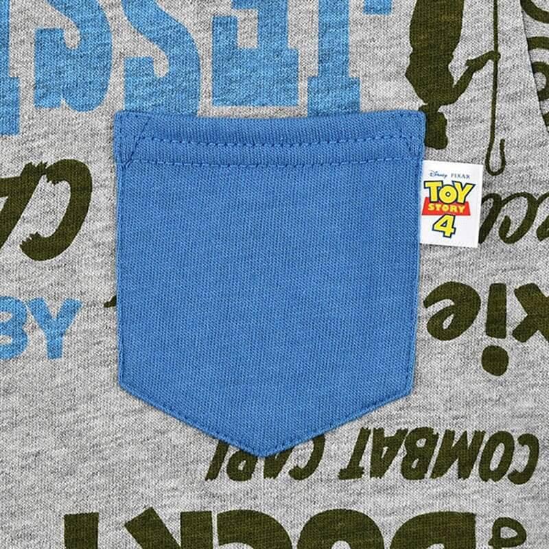 トイ・ストーリー4 キッズ用半袖Tシャツ(120) ロゴ