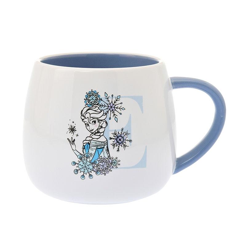 エルサ マグカップ Black&Flower