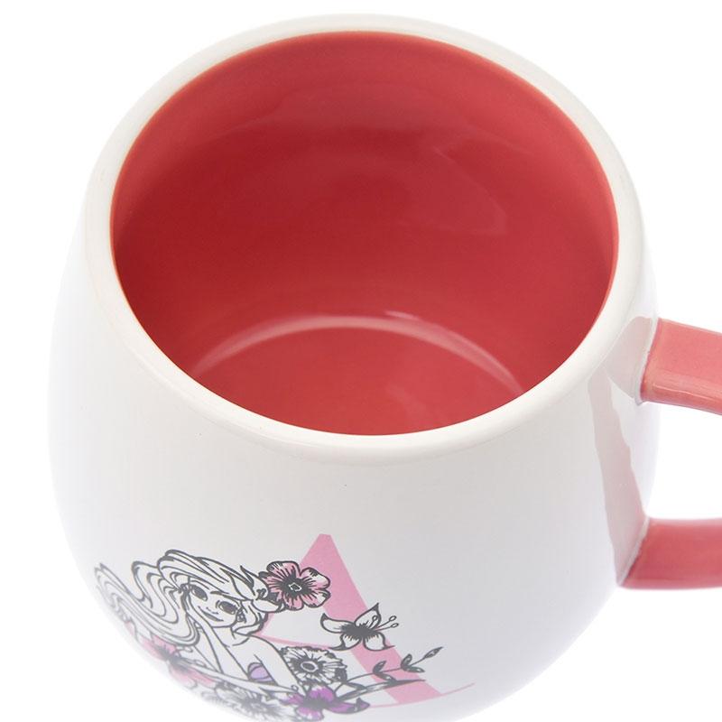 アリエル マグカップ Black&Flower