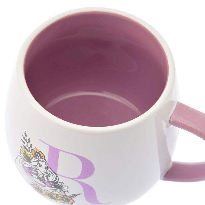 ラプンツェル マグカップ Black&Flower