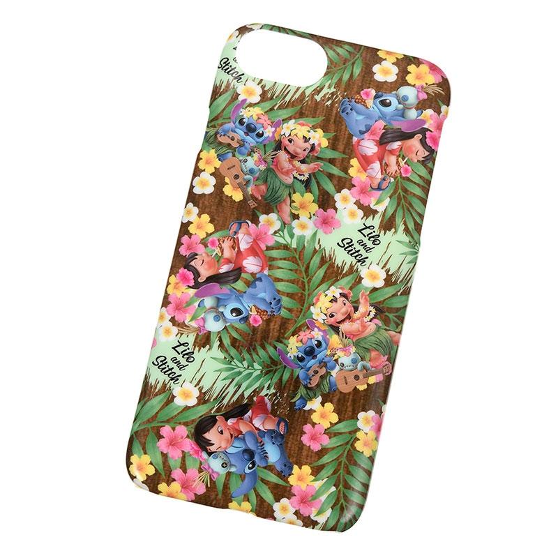 iPhone 6/6s/7/8用スマホケース・カバー リロ&スティッチ Hawaiian Stitch