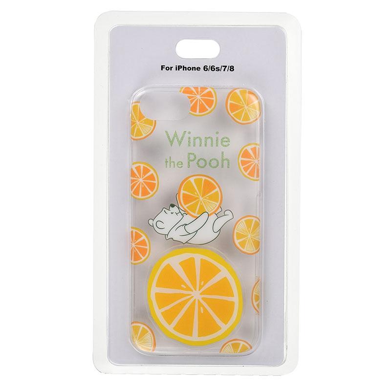 iPhone 6/6s/7/8用スマホケース・カバー プーさん フレッシュレモン