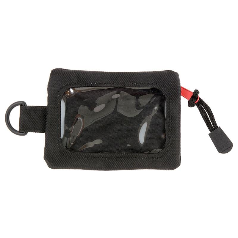 定期入れ・パスケース コインケース付き マーベル ロゴ ブラック ワンカラー