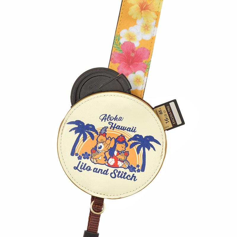 カメラストラップ リロ&スティッチ Hawaiian Stitch