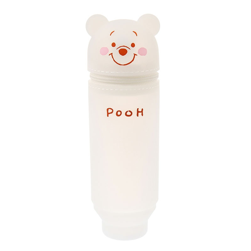 プーさん 筆箱・ペンケース ペンスタンド White Pooh ゴールド