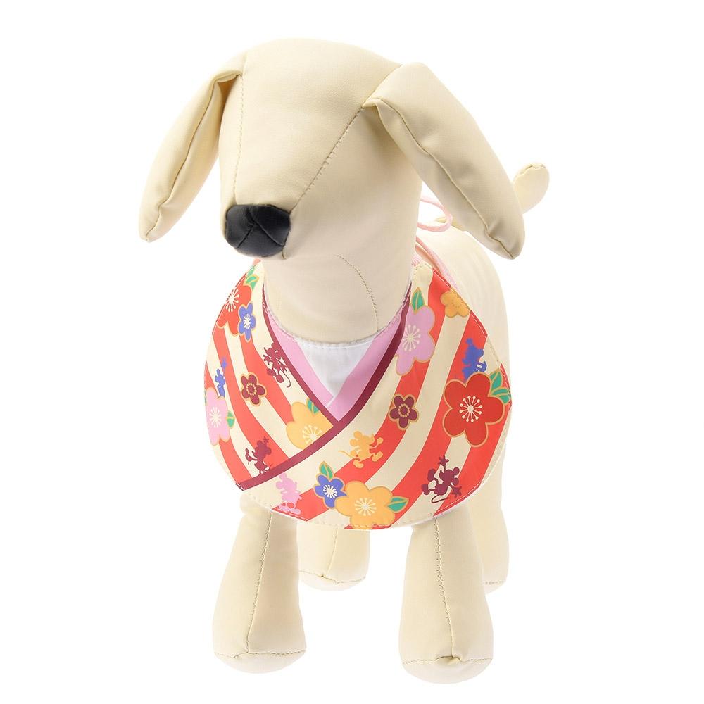 犬用スタイ 小型~中型犬用 ミッキー&ミニー お正月