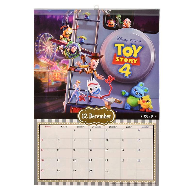 トイ・ストーリー4 壁掛けカレンダー 2020