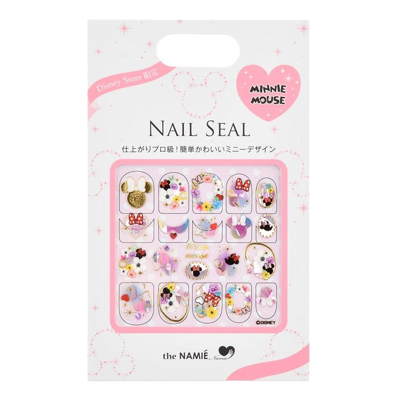 【the NAMIE nail art collection】ミニー ネイルシール アイコン