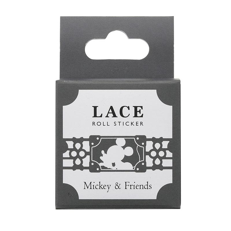 ミッキー&フレンズ デコレーションテープ レース
