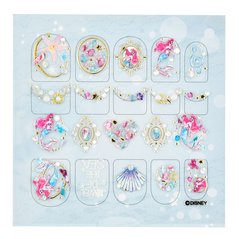【the NAMIE nail art collection】アリエル ネイルシール アイコン