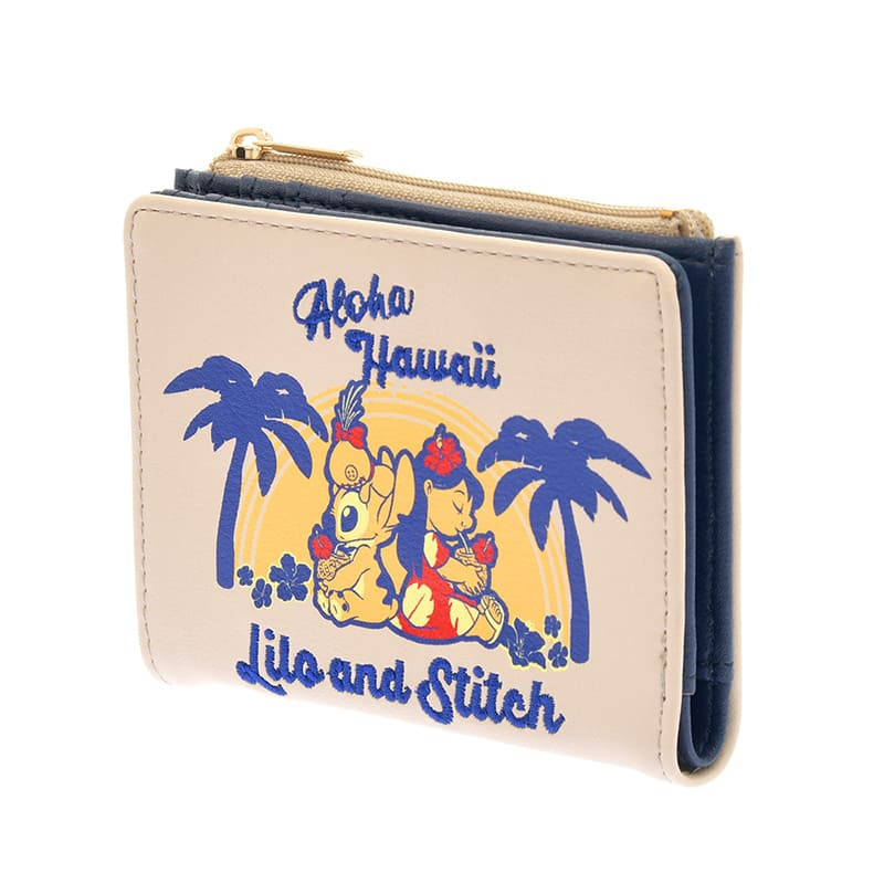 財布・ウォレット リロ&スティッチ Hawaiian Stitch