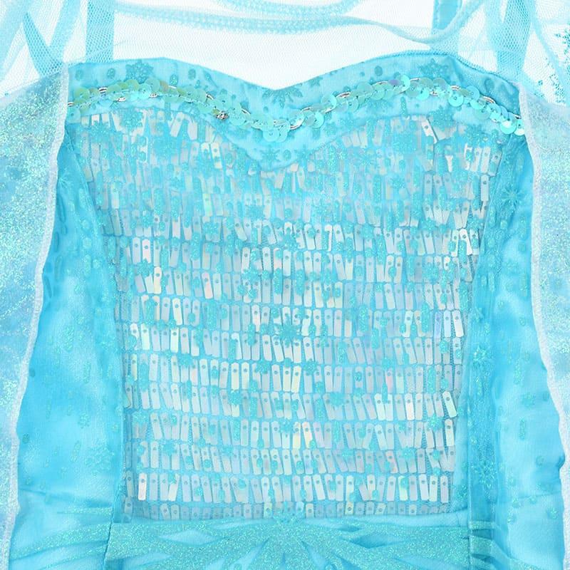 エルサ キッズ用ドレス(130)