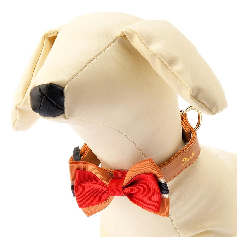 首輪 小型犬用 デール リボン
