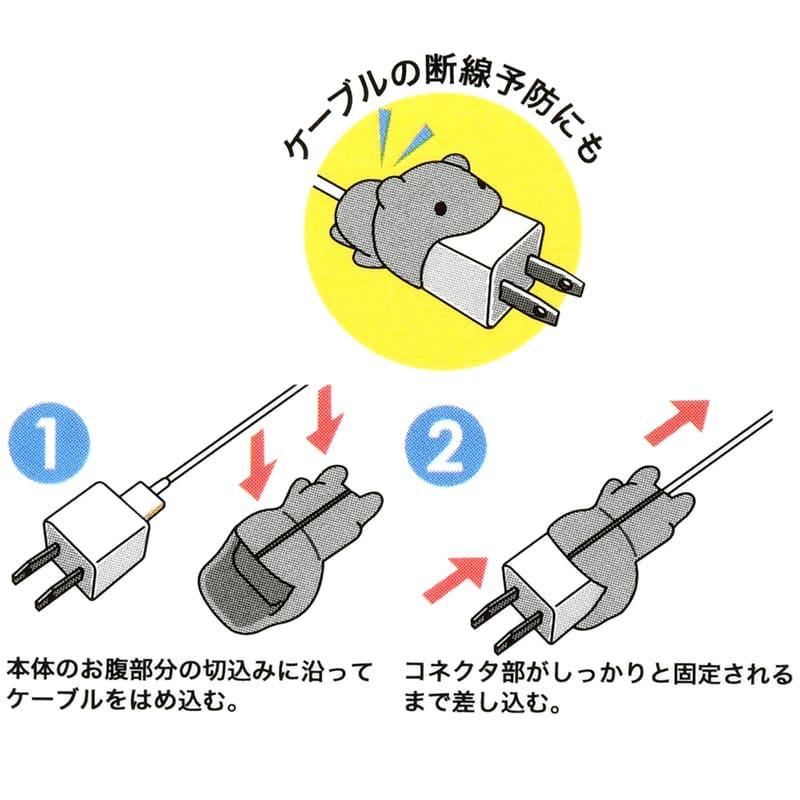 ケーブルバイトビッグ iPhone専用 リトル・グリーン・メン/エイリアン