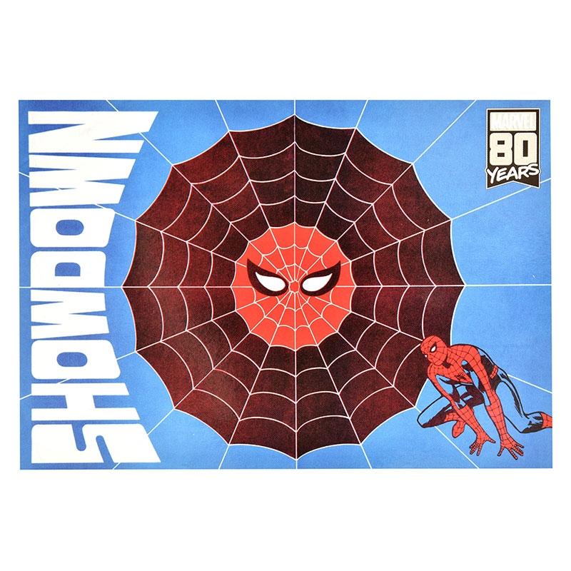 【アウトレット】マーベル スパイダーマン ポストカード American Vintage For 80th Anniversary