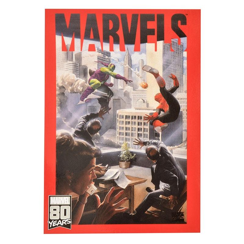マーベル スパイダーマン、グリーンゴブリン ポストカード American Vintage For 80th Anniversary