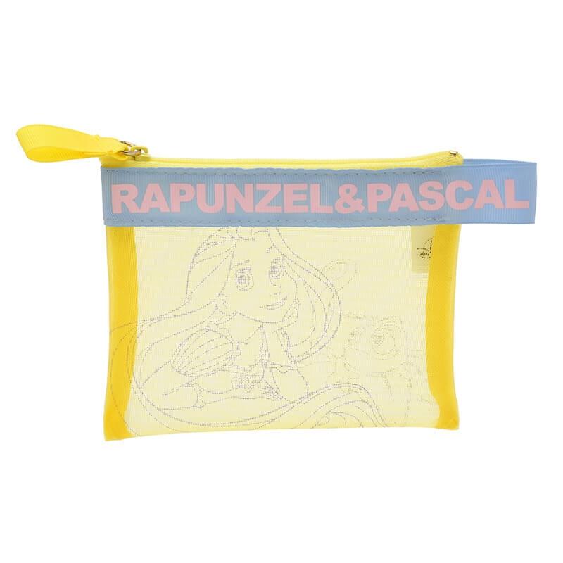 ポーチ ラプンツェル&パスカル メッシュ