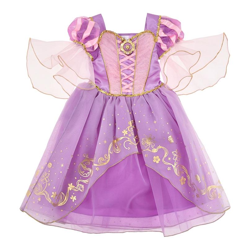 ラプンツェル キッズ用ドレス(120)