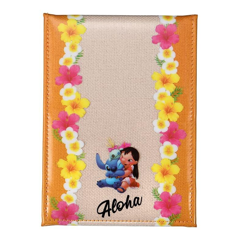 ミラー・鏡 折りたたみ式 リロ&スティッチ Hawaiian Stitch