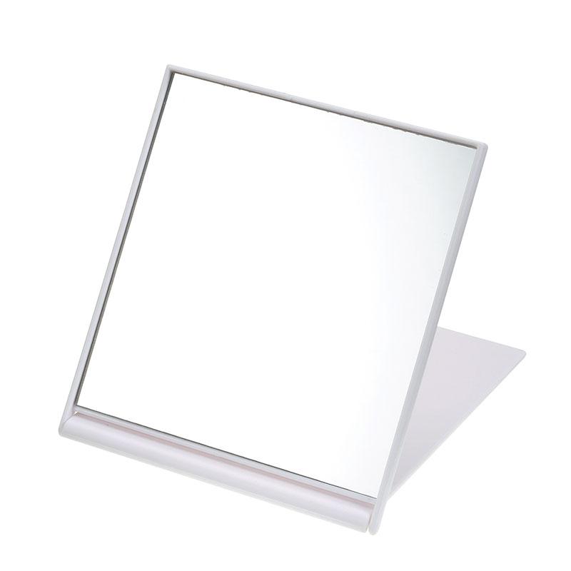 ミラー・鏡 折りたたみ式 プーさん&ピグレット ホワイト