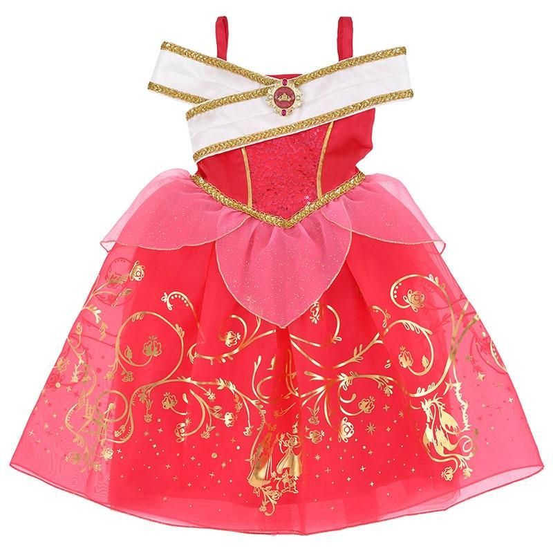 オーロラ姫 キッズ用ドレス(110)