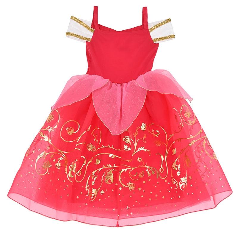 オーロラ姫 キッズ用ドレス(130)