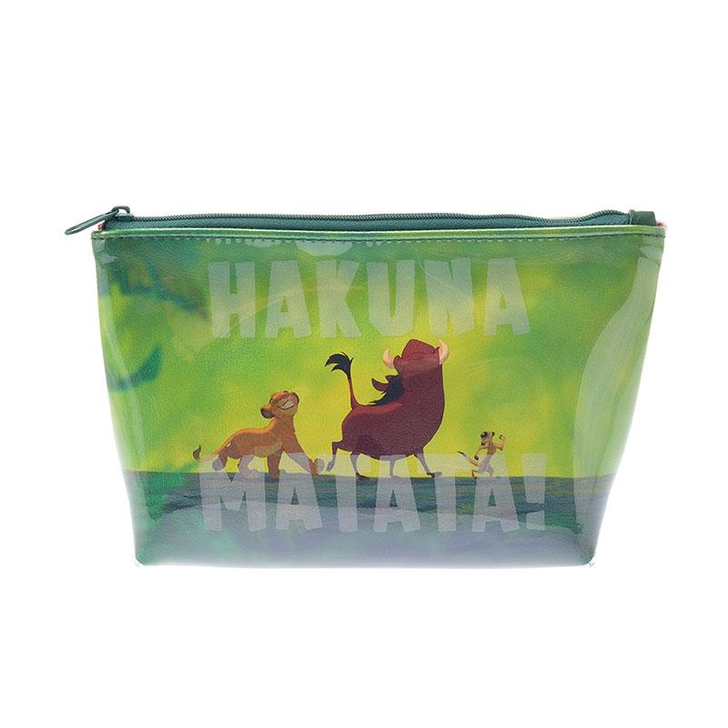 シンバ、プンバァ、ティモン ポーチ THE LION KING Collection