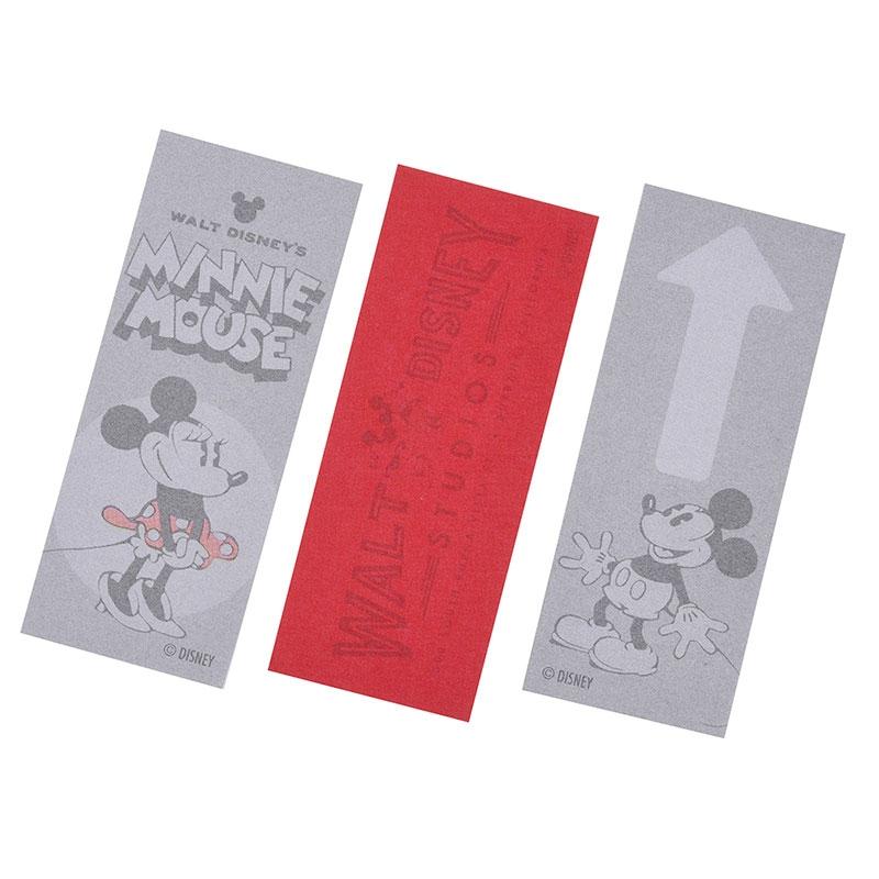 ミッキー&ミニー 付箋・メモ帳 ウォルト・ディズニー・スタジオ