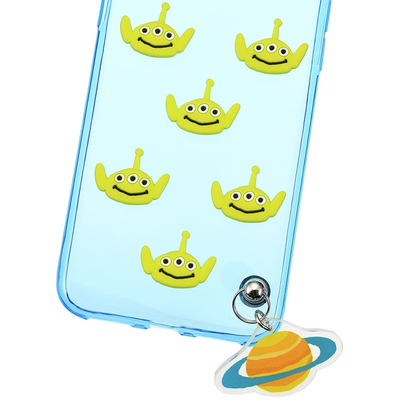 リトル・グリーン・メン/エイリアン iPhone X/XS用スマホケース・カバー フェイス&チャーム