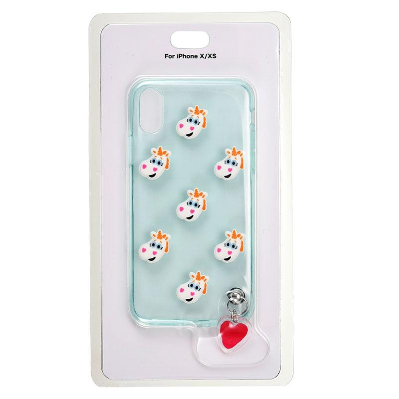 バターカップ iPhone X/XS用スマホケース・カバー フェイス&チャーム