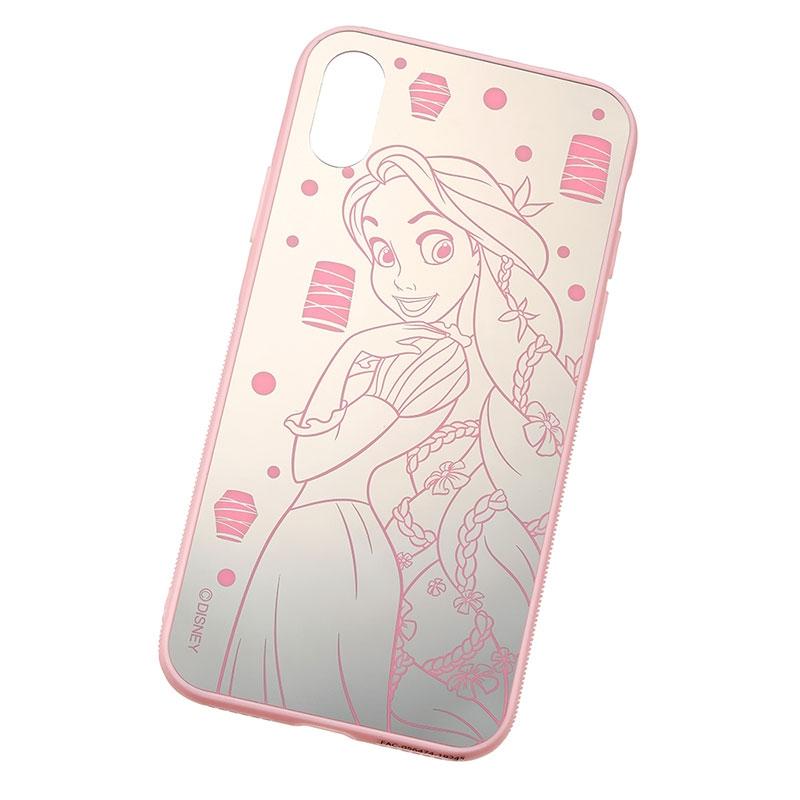 ラプンツェル iPhone X/XS用スマホケース・カバー ミラー
