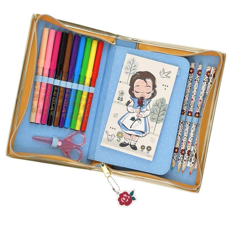 ディズニープリンセス ディズニー アニメーターズ コレクション ステーショナリーセット ジップケース
