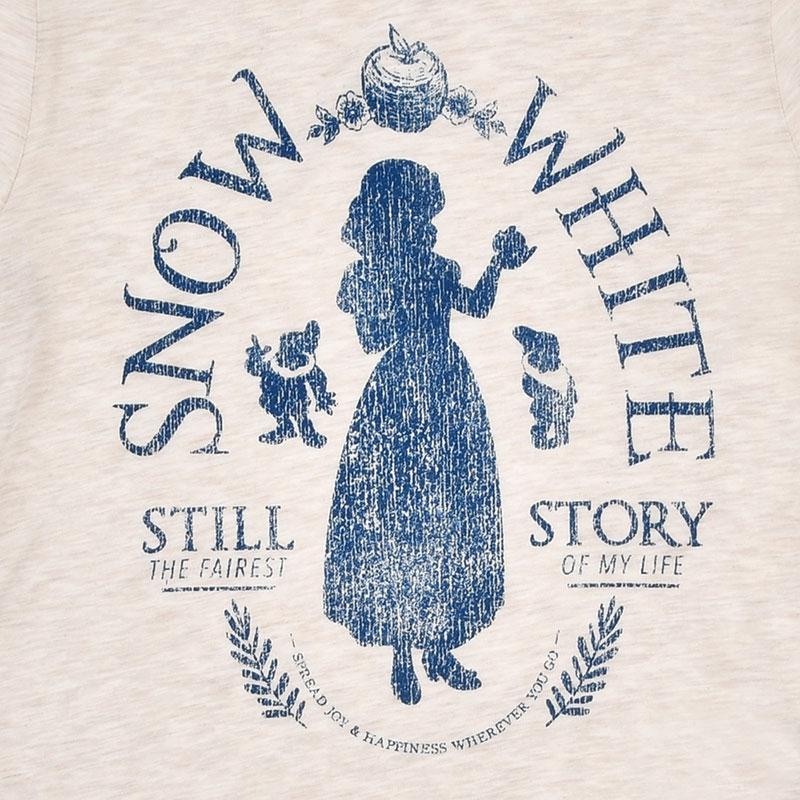 白雪姫 長袖Tシャツ(XL) 袖ライン
