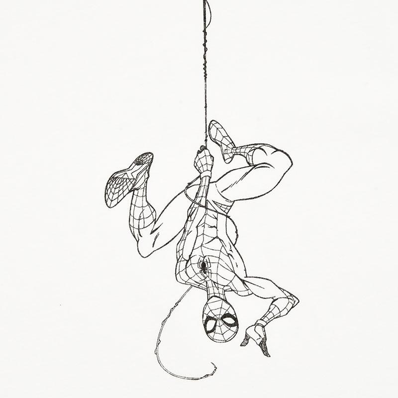 マーベル スパイダーマン 半袖Tシャツ(L) HANG