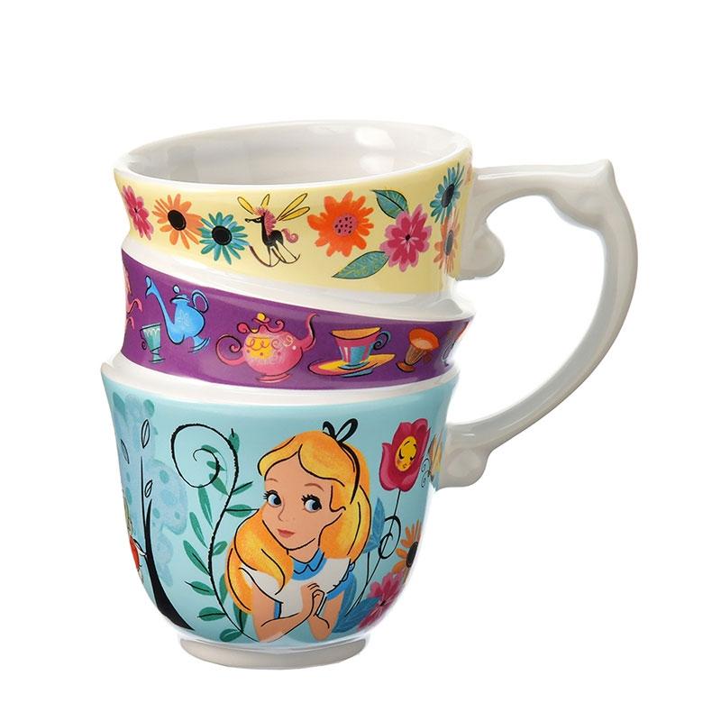 アリス&白うさぎ マグカップ