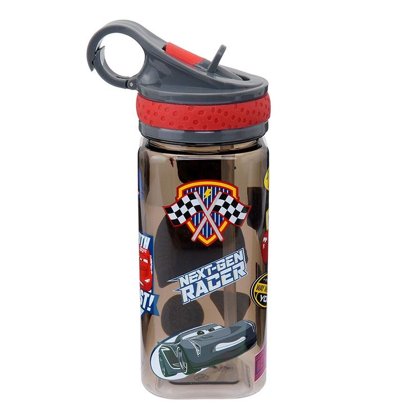 水筒・ウォーターボトル カーズ/クロスロード ブラック エキサイティング スクエア