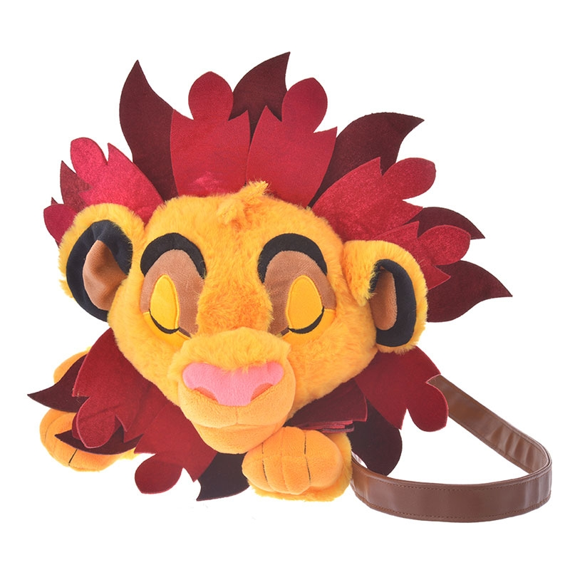 シンバ ショルダーバッグ ぬいぐるみ風 THE LION KING Collection