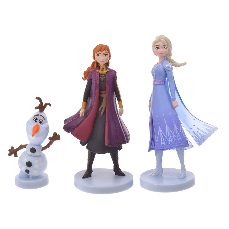 アナと雪の女王 フィギュアセット アナと雪の女王2