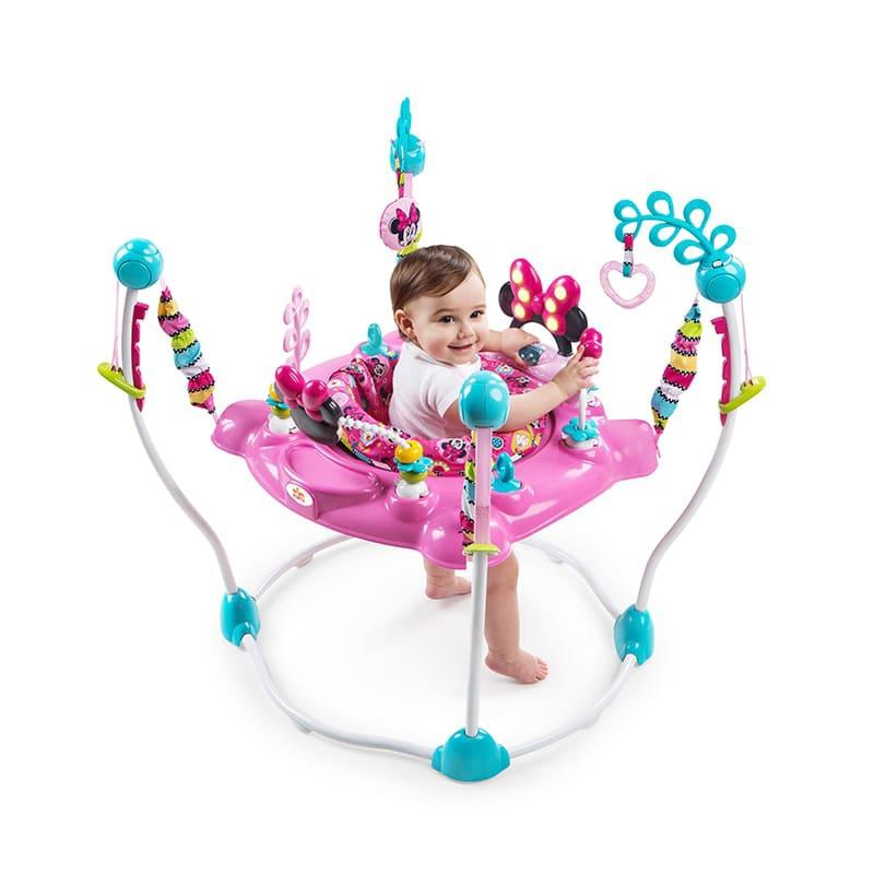 【Kids II】ピーカブー・アクティビティ・ジャンパー ミニー ブライトスターツ Disney Baby