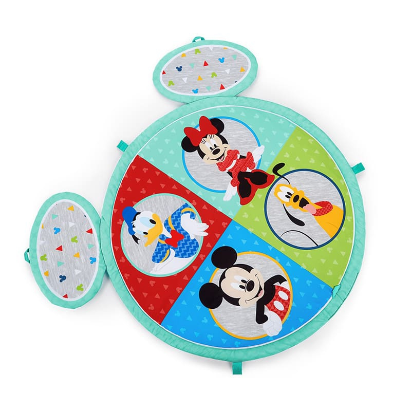 【Kids II】イージーストア・プレイマット ミッキー&フレンズ ブライトスターツ Disney Baby