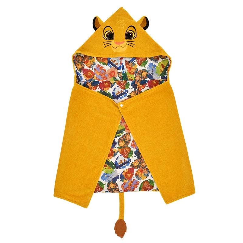 ライオン・キング タオル フード付き THE LION KING Collection