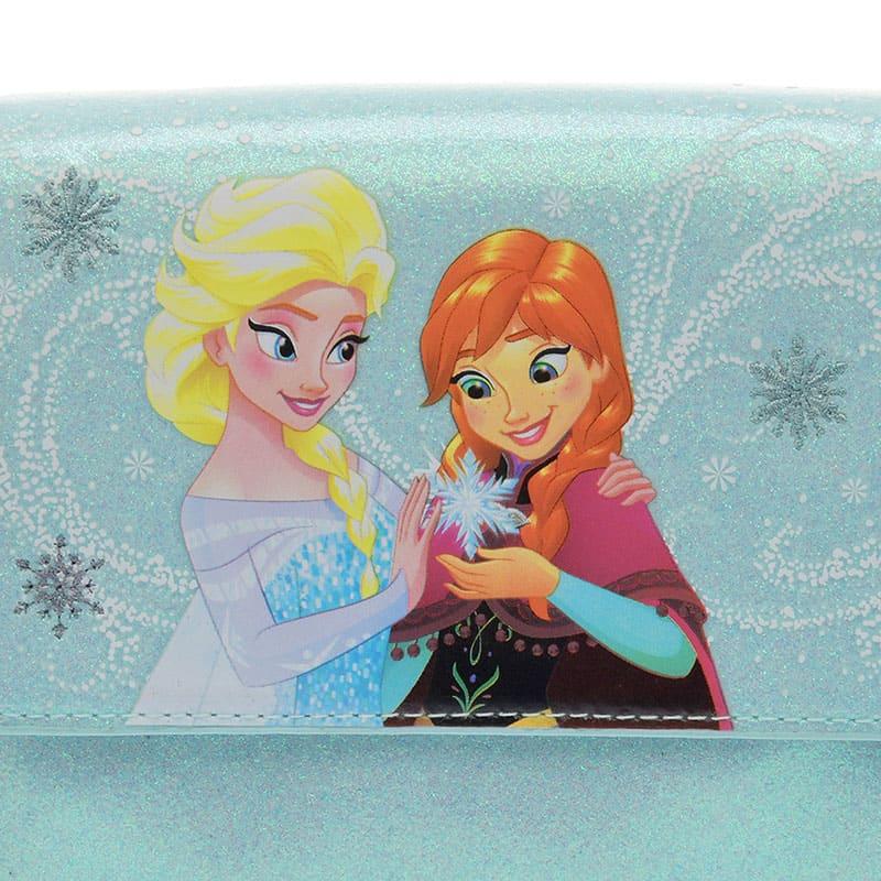 アナ&エルサ ショルダーバッグ スノーフレイク アナと雪の女王2