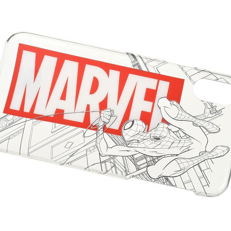 マーベル スパイダーマン iPhone X/XS用スマホケース・カバー